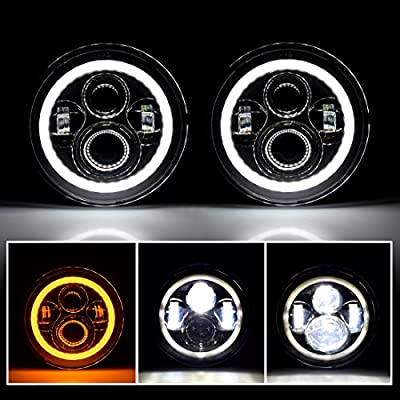 "IParts 7"" Round LED Headlights"