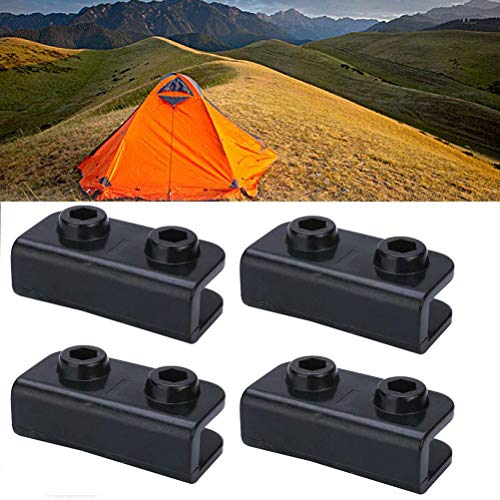 FEIDAjdzf 4Pcs 4Pcs Rectangular Bracket Feet Base Pop-Up Tent Pergola Shelter Non-Slip Camping Tool Tent Accessories