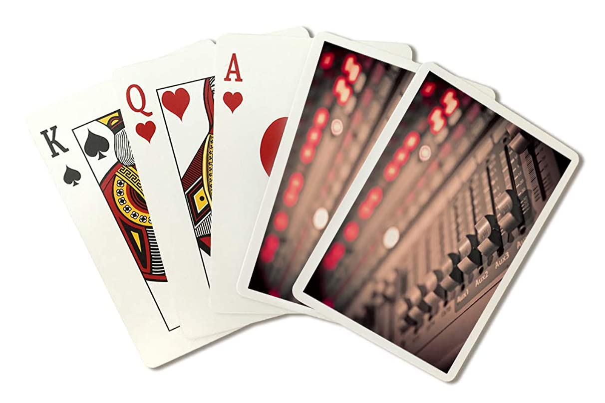 Music Mixer Photography A-90983 (Playing Card Deck - 52 Card Poker Size with Jokers)