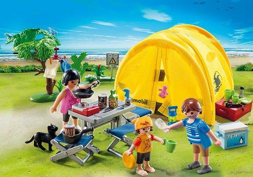 Tente de Camping Playmobil pour la Famille 5435 - 2