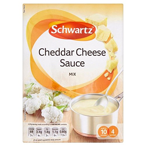 Schwartz Cheddar Cheese Sauce Mix (40g) - Confezione da 2 Schwartz Cheddar Cheese Sauce Mix (40g) - Pack of 2 Quantità: 2