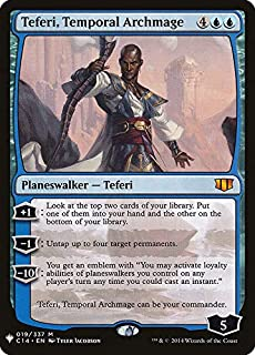 Magic: The Gathering - Teferi, Temporal Archmage - Mystery Booster - Commander 2014