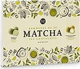 Mi&Cu Gourmet - Bombones de té Matcha - Caja mixta 400g de bombones de té Matcha y bombones de té Matcha con Bergamota [Pack de 3]