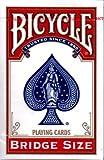 Baraja BICYCLE tamaño Bridge - Dorso Rojo (US Playing Card Company)