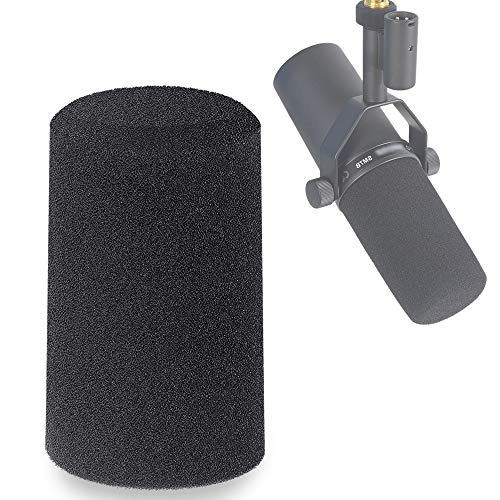 SM7B Windscreen - Mic Pop Filter Foam Cover Customized for Shure SM7B Microphone to Blocks Out Plosives by YOUSHARES
