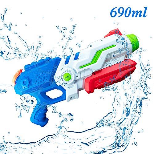 infinitoo Wasserpistole Spritzpistolen, Water Gun Spielzeug für Kinder Water Blaster Badespielzeug Strandspielzeug Erwachsener(Schussweite ca. 10m)