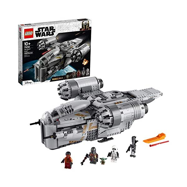 LEGO Star Wars: The Mandalorian The Razor Crest 75292 Exclusive Building Kit, New 2020 (1,023 Pieces) 1