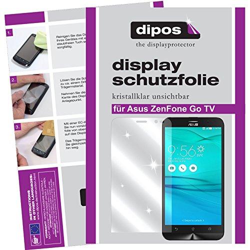 dipos I 6x Schutzfolie klar kompatibel mit Asus ZenFone Go TV Folie Bildschirmschutzfolie