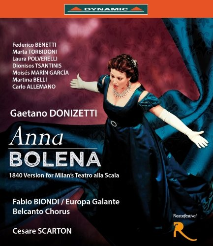 Donizetti: Anna Bolena (Teatro Flavio Vespasiano, Rieti/Italien, 2013) [Blu-ray] [Reino Unido]