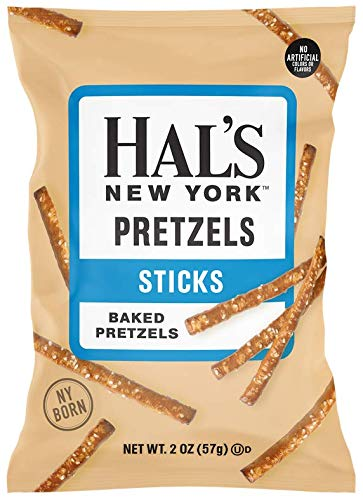 Hal's New York Baked Max 65% OFF Pretzels Sticks 2 Pack 24 of Ounce Ranking TOP13