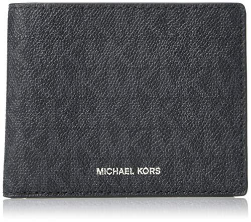 Michael Kors 'Jet Set' - Cartera para hombre (70% PVC/ 17% poliéster/13% algodón Bi-Fold