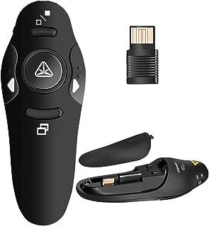 Best BEBONCOOL RF 2.4GHz Wireless Presenter Remote Presentation USB Control PowerPoint PPT Clicker Review