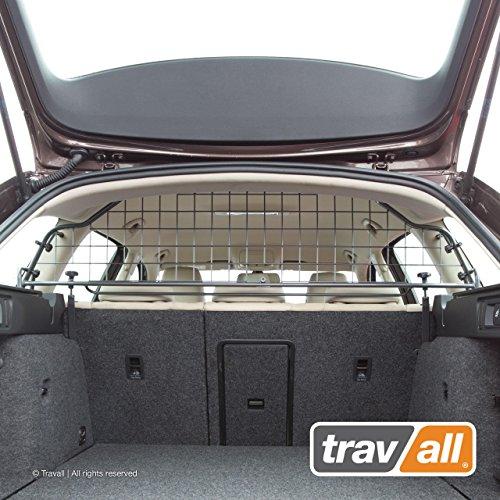 Travall Guard Hundegitter Kompatibel Mit Skoda Octavia Combi (2012-2020) Scout (2014-2020) TDG1404 - Maßgeschneidertes Trenngitter in Original Qualität
