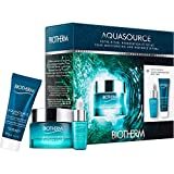 Biotherm Biotherm Aquasource Everplump Set Cream 50 Ml+Elixir 7 Ml+Night Spa 20 Ml - 50 ml