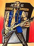 DAVE NAVARRO PRINT poster prs guitar trust no one cd lp vinyl man cave jane's addiction panic channel
