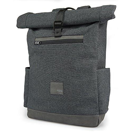 Adore June Laptop-Rucksack Wilko, für Laptops bis zu 40 cm (15,6 Zoll) Anthrazit