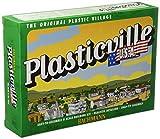 Bachmann Trains - PLASTICVILLE U.S.A. BUILDINGS – CLASSIC KITS - LOG CABIN w/RUSTIC FENCE - O Scale
