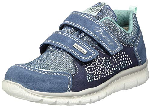 PRIMIGI Scarpa Bambina Goretex Sneaker, Blau (Azzurro/Blu/Blu 5373211), 38 EU