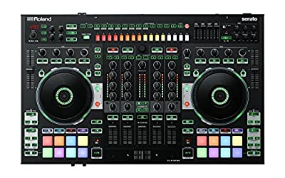 Roland Dj-808 - Dj Controller with Built In Drum Machine And 4 Channel Mixer
