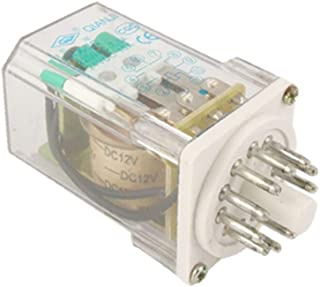 X-DREE DC 12V Coil high performance 7.5A 220V AC essential / 10A 24VDC well made General Purpose Relay 11 Pin 3PDT(fea-de-...