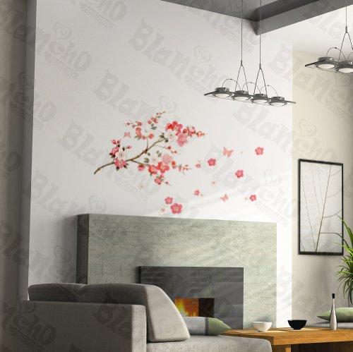 Une Prune avec Lui – Patchs Rouge Stickers muraux Stickers Décoration intérieure