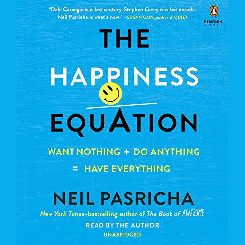 The Happiness Equation audiobook cover art
