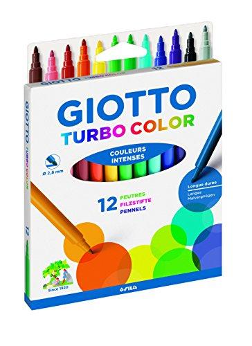 Giotto 0719 00 Turbo Color - Pennarelli multicolore