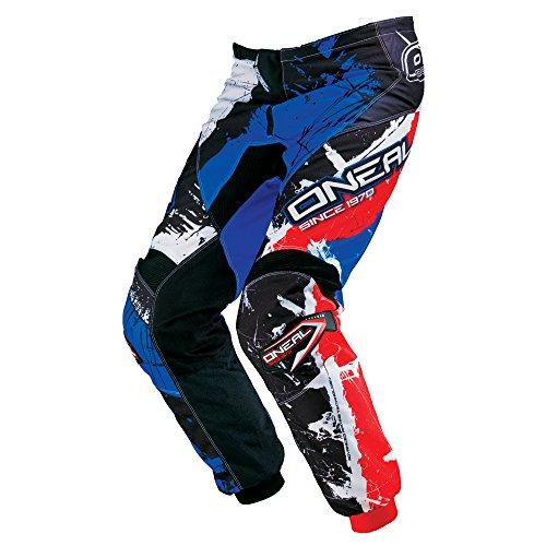O'NEAL Element Youth MX DH Kinder MTB Pant Hose lang Shocker schwarz/blau/rot 2018: Größe: 24 (116-134)
