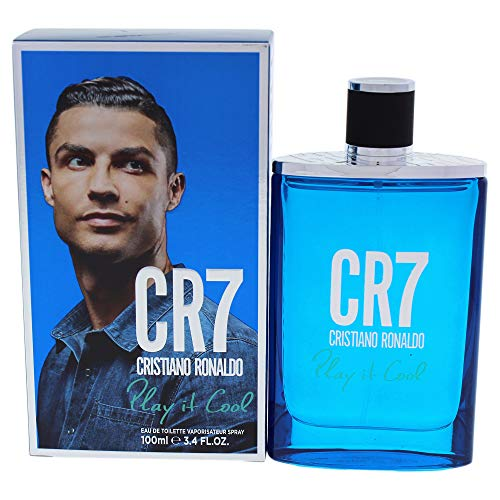 Cristiano Ronaldo CR770064 Play It Cool Eau de Toilette for Him 100 ml / 3.4 oz