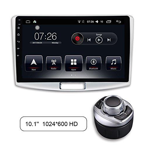 Eunavi Double Din Quad Core 7 pollici Android 7.1 1G 16 G Universale Autoradio con Bluetooth 2 DIN in Dash-Auto GPS Navigazione completa Touchscreen Autoradio modello WiFi fotocamera gratuita