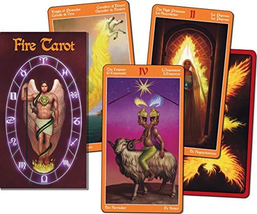 Lo Scarabeo - Karten: Feuer Tarot -