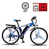 26'' Electric Bikes, Mens Mountain Bike, Magnesium Alloy Ebikes Bicycles, with Removable Large Capacity...