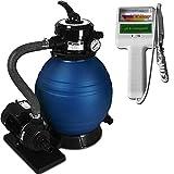 Deuba Depuradora 10.200 l/h bomba de filtro de arena...