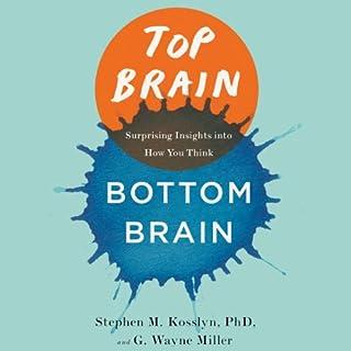Top Brain, Bottom Brain audiobook cover art