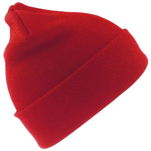 Result - Bonnet de ski thermique unisexe - Enfant (Taille unique) (Rouge)