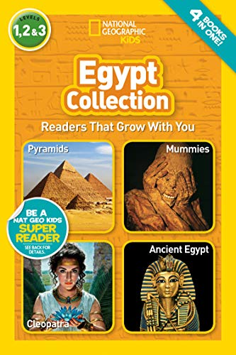 National Geographic Readers: Egypt Collection (National Geographic Kids Readers, Levels, 1,2&3)