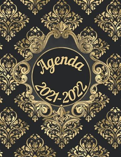 Agenda 2021-2022: Un Diario Settimanale dallo Stile Dark Unico dove troverai tutto lo Spazio per Organizzare al meglio la tua settimana.