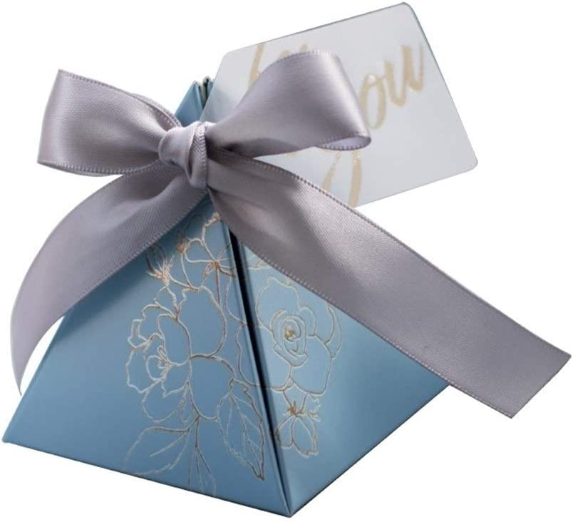 AOSUAI Triangular Candy Box Wedding San Francisco Mall Favors and Gifts Boxes Al sold out.