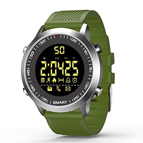 Smart Horloges Bluetooth Fitness Trackers Smart Horloge EX18 Met Stappenteller Stopwatch Voor Mannen Vrouwen Compatibel met Android iOS-telefoons