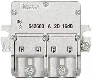 Televes 542603 - Mini derivación 5 2400mhz easyf 2D 16db a-