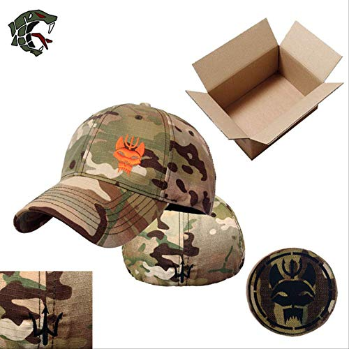 STBB Sports Cap Men's and Women's Military Enthusiasts Seal Team Tactical Baseball Cap Snapback Stretchable Hat Running/Fishing L Navy