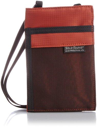 [ソロ・ツーリスト] パスポートポーチ15 オレンジ 16.5 cm PP-15