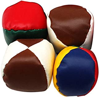 YeahiBaby 4pcs Juggling Balls Juggle Beanbag Toy Indoor Outdoor Playing Toy for Kids  Random Color