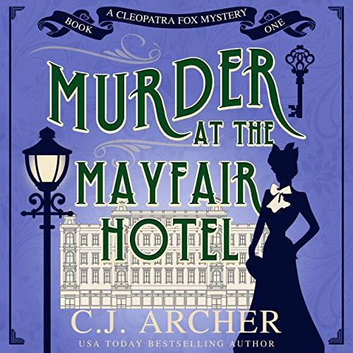 Page de couverture de Murder at the Mayfair Hotel