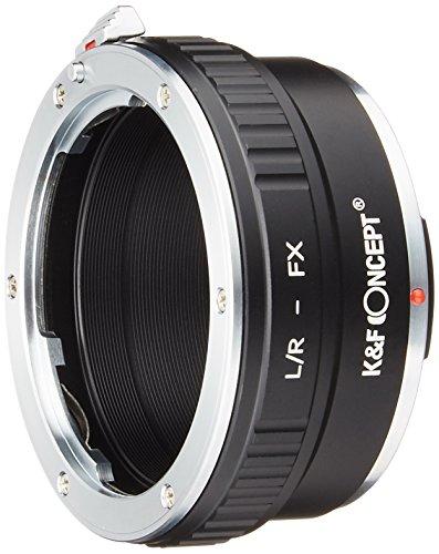K&F Concept レンズマウントアダプター KF-LRX (ライカRマウントレンズ → 富士フィルムXマウント変換)