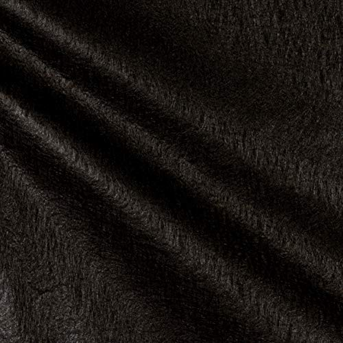 40in Hanes Non Woven Polypropylene Furniture Spring Cover/Back Liner Black Fabric by The Yard