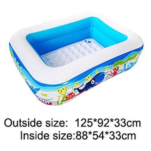 Kinderspielzeug Baden Baby Aufblasbarer Pool Haushalt Erwachsenen Paddel Rechteckigen Innen- Und AußEn Aufblasbaren Pool
