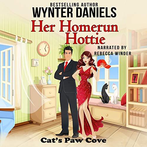 Her Homerun Hottie audiobook cover art