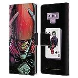 Head Case Designs sous Licence Officielle Batman DC Comics Chaperon Rouge Three Jokers Coque en Cuir à Portefeuille Compatible avec Samsung Galaxy Note9 / Note 9