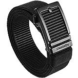 FAIRWIN Ratchet Belts for Men, Golf Web Belt for Jeans with Automatic Buckle Adjustable Tactical Nylon Men's Belt